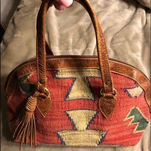 Handbags - Navajo rug purse.